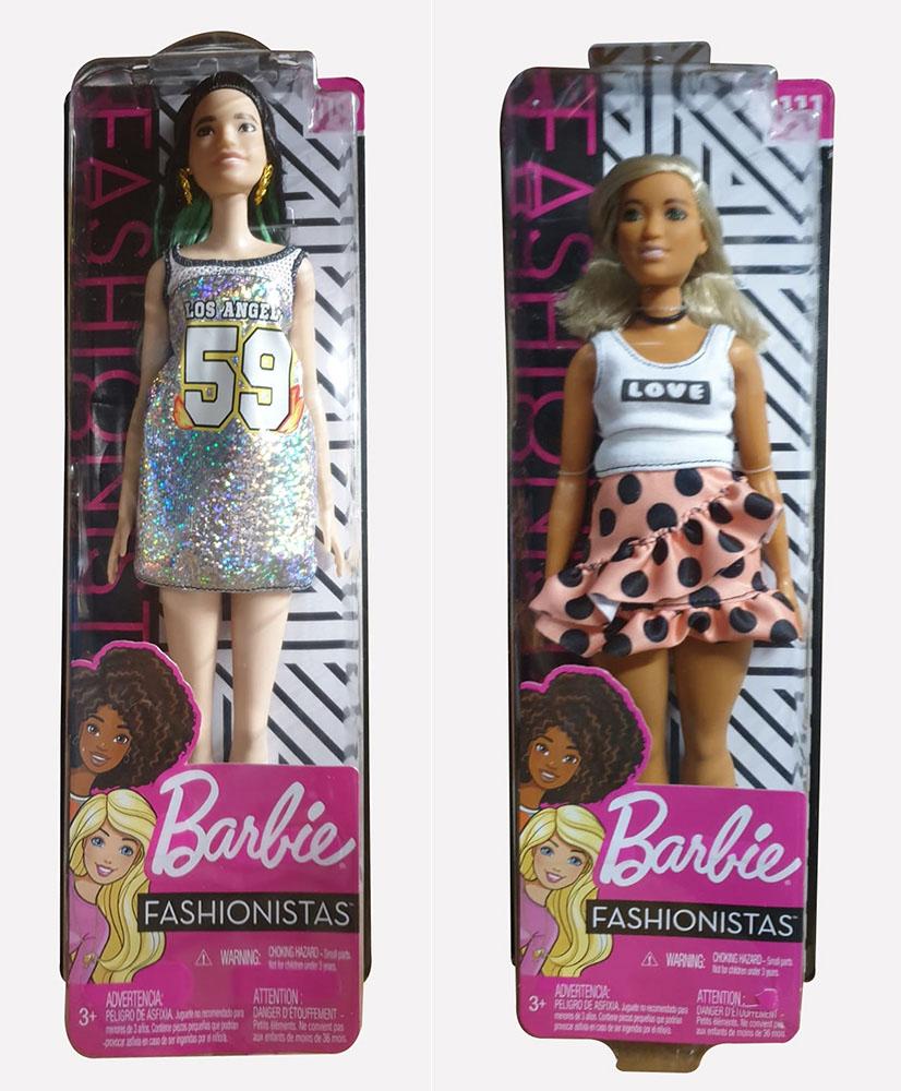 Barbie Fashionistas Puppen verschiedene Outfits und Stylings (Auswahl)