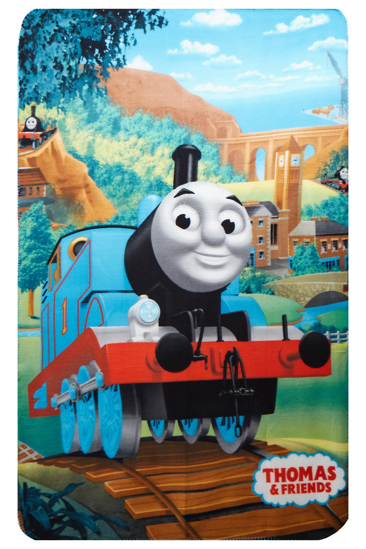 Fleecedecke Thomas & Friends 100 x 150 cm für Kinder zum Kuscheln
