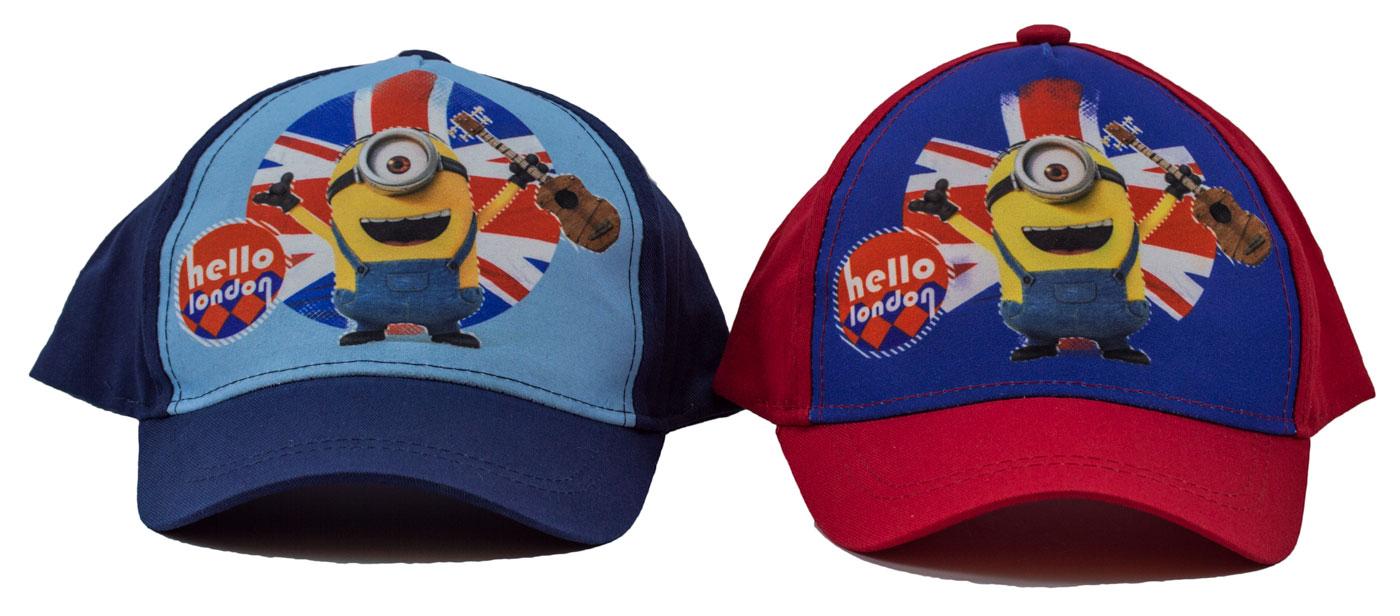 Minions Baseball Kappe Hello London für Kinder (Auswahl)