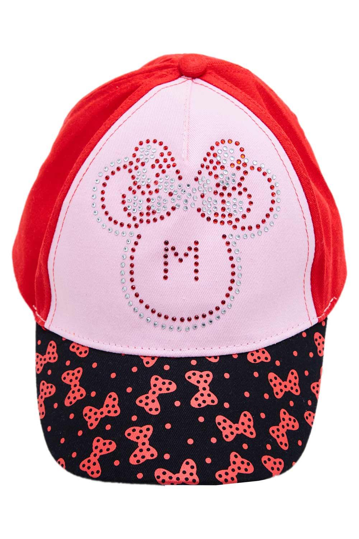 Disney Minnie Maus Kappe Rot 52