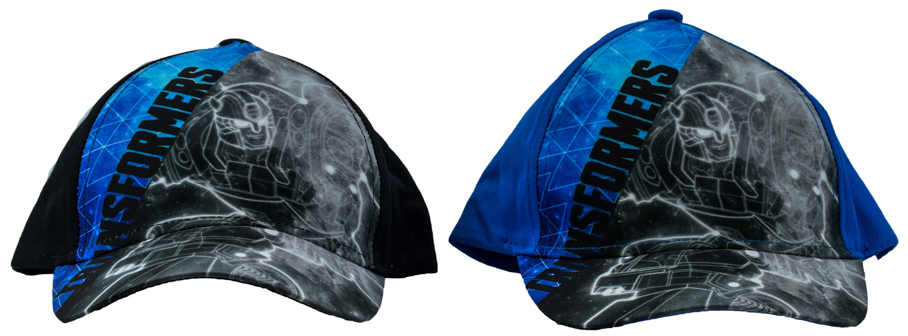 Transformers Baseball Caps Blau / Schwarz verschiedene Größen (Auswahl)