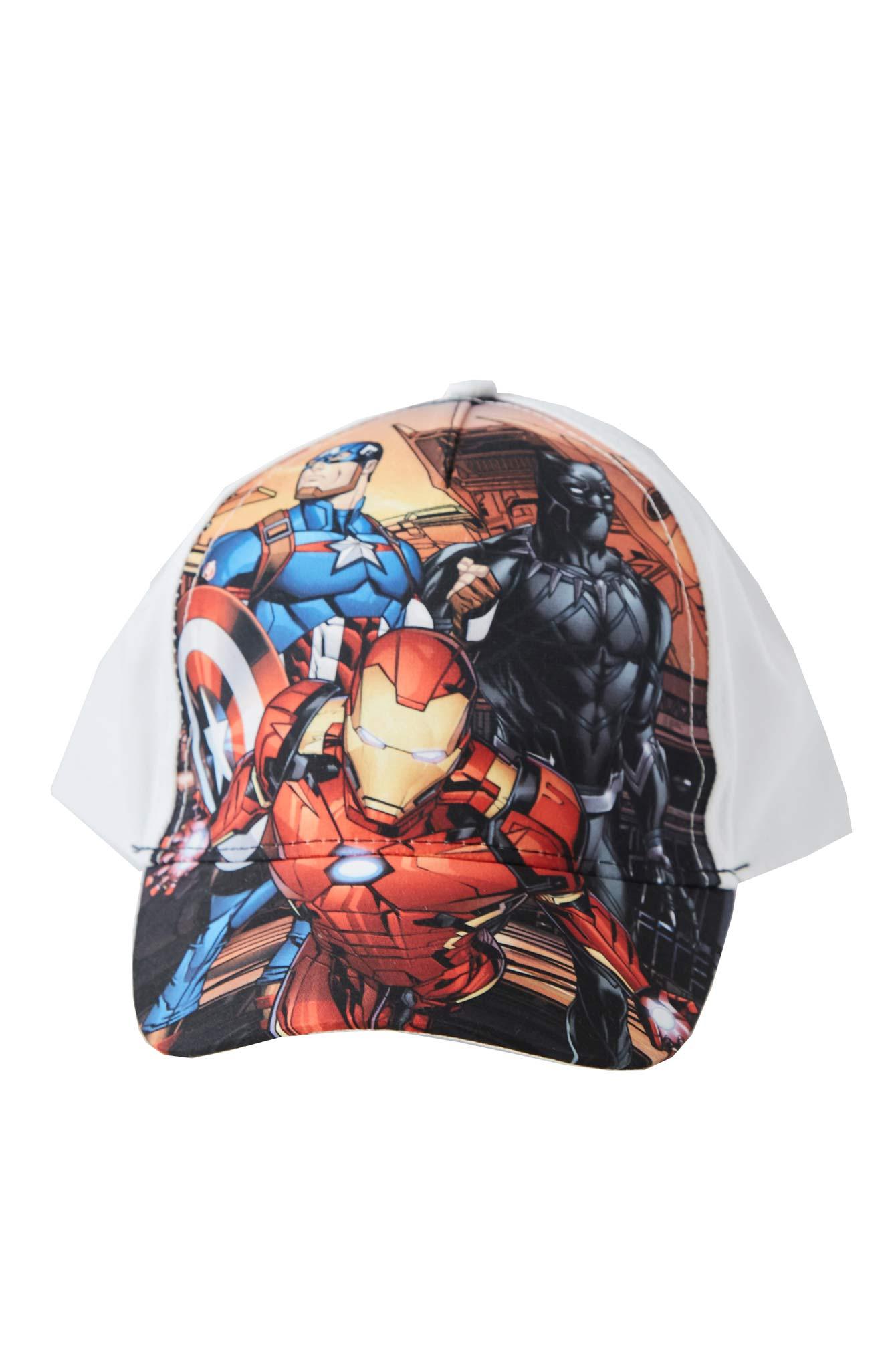 Marvel Avengers Kappe Weiß 54
