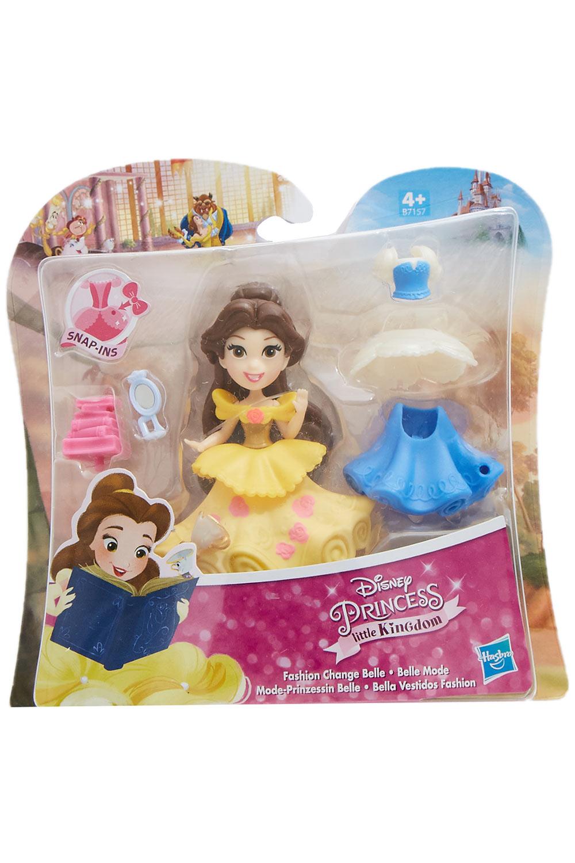 Disney Mode-Prinzessin Belle mit Kleidern und Accessoires Little Kingdom
