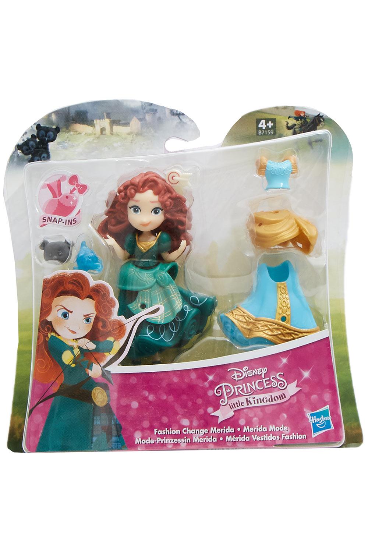 Disney Mode-Prinzessin Merida mit Kleidern und Accessoires Little Kingdom