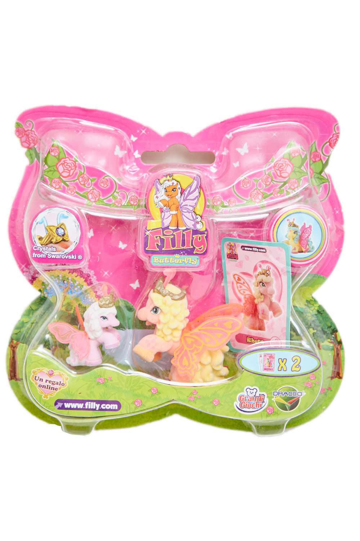Dracco UT20582 - Filly Butterfly Sammelpferde - Mutter mit Baby