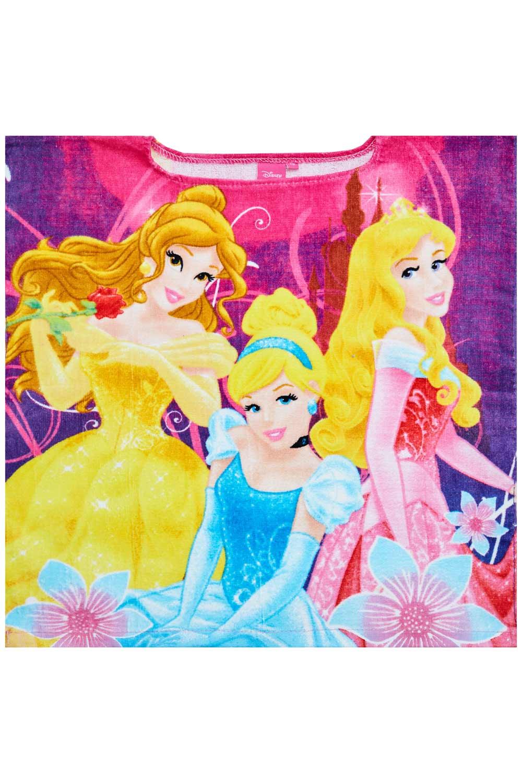 Disney Princess Mädchen Badeponcho ohne Kapuze
