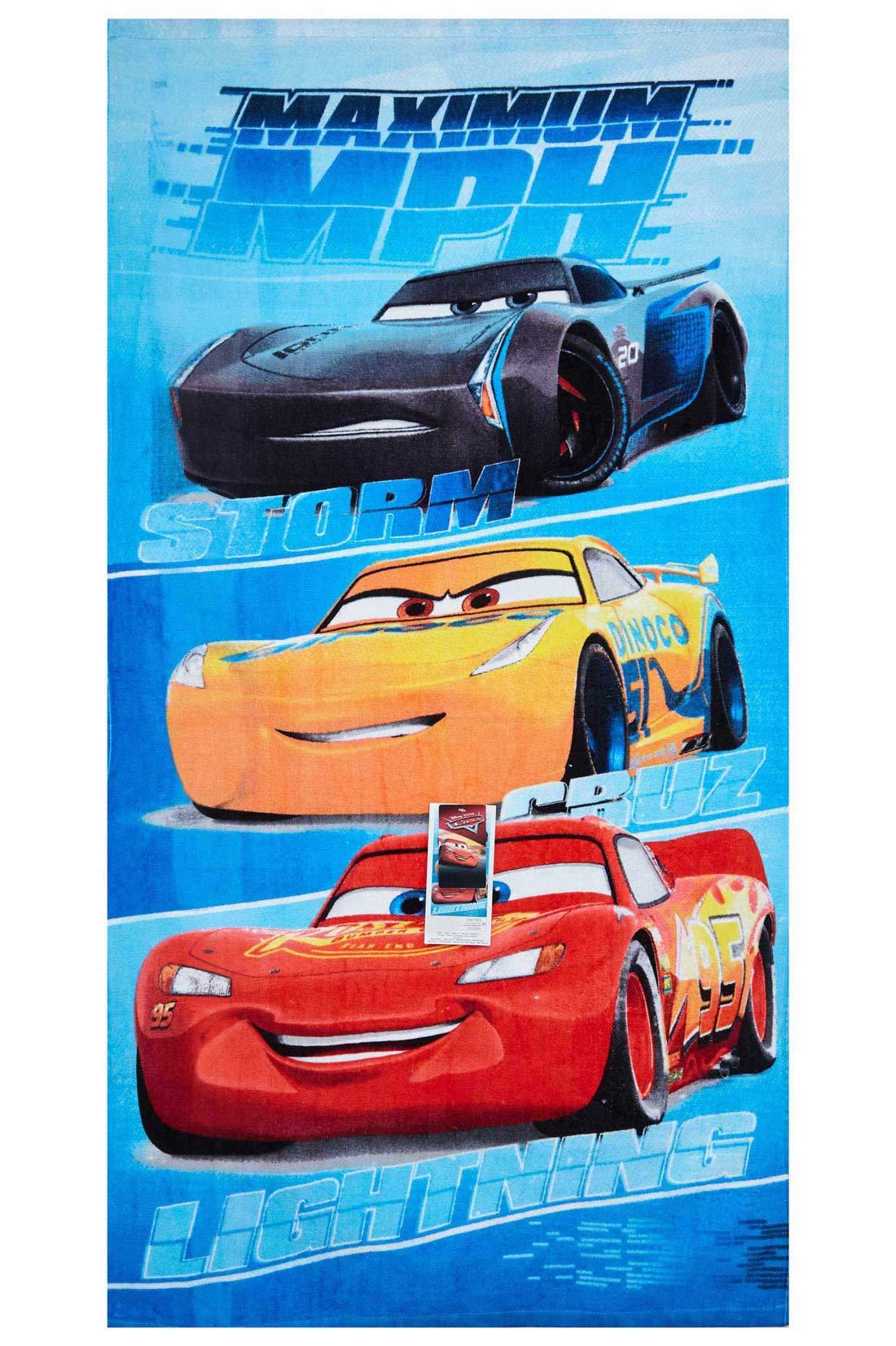 Disney Cars Strandtuch Maximum MPH 70 x 140 cm 100 % Baumwolle
