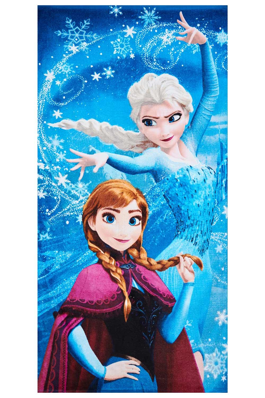 Disney Frozen Handtuch Anna und Elsa Magie 70 x 140 cm, 100% Baumwolle