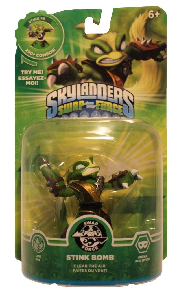 Activision Skylanders Swap Force Figur Stink Bomb für versch. Konsolen