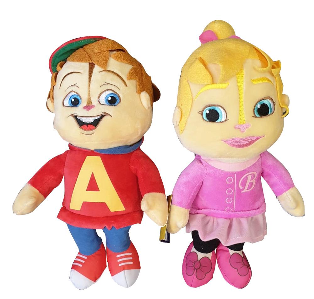 Alvin and the Chipmunks verschiedene Plüschfiguren 30cm (Auswahl)