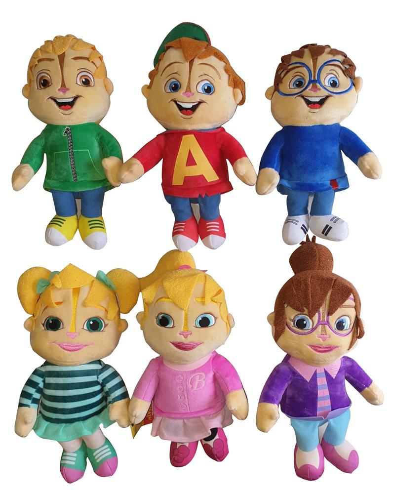 Alvin und die Chipmunks Plüschfigurenset (Auswahl)