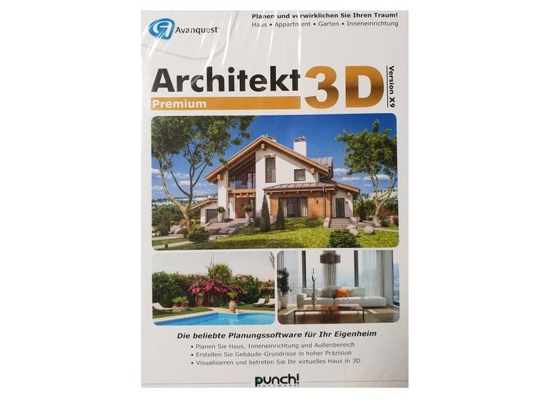 Architekt 3D X9 Premium Software PC