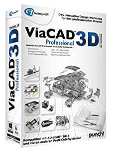 Avanquest ViaCAD Professional 3D Software PC