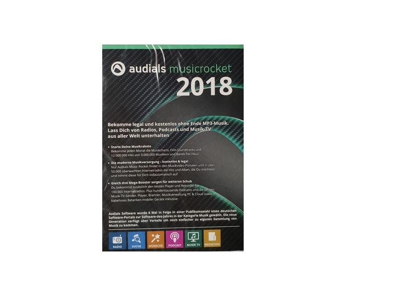 Audials Music Rocket 2018 Software für PC