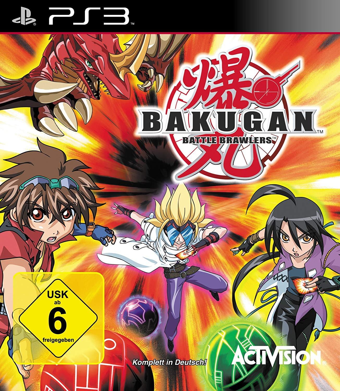 Bakugan Battle Brawlers für PlayStation 3 PS3