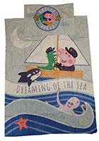 Baby-Wendebettwäsche Georg Wutz Dreaming of the Sea 100 x 135 cm 100% Baumwolle