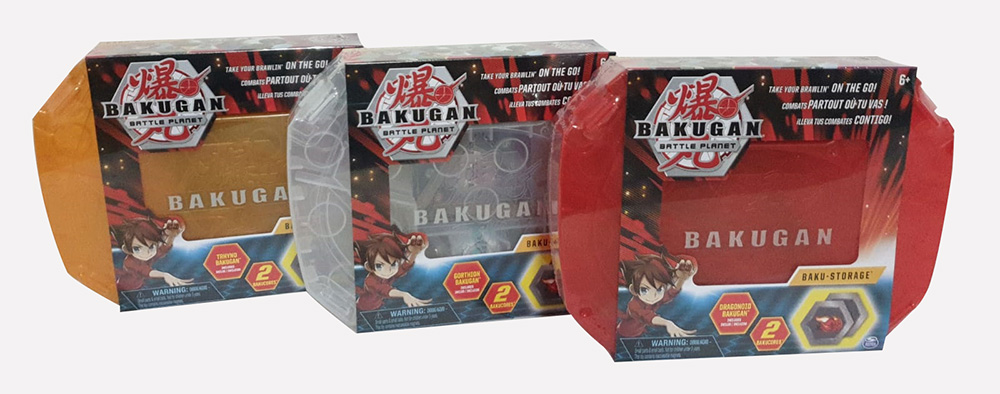 1 X Bakugan 6045138 Storage Case Aufbewahrungskoffer extra Bakugan Basic Ball unterschiedliche Varianten