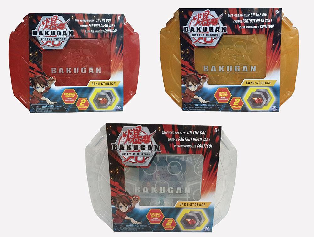 Bakugan 20115350 Storage Case weiss orange 2011534 20115349 Aufbewahrungskoffer