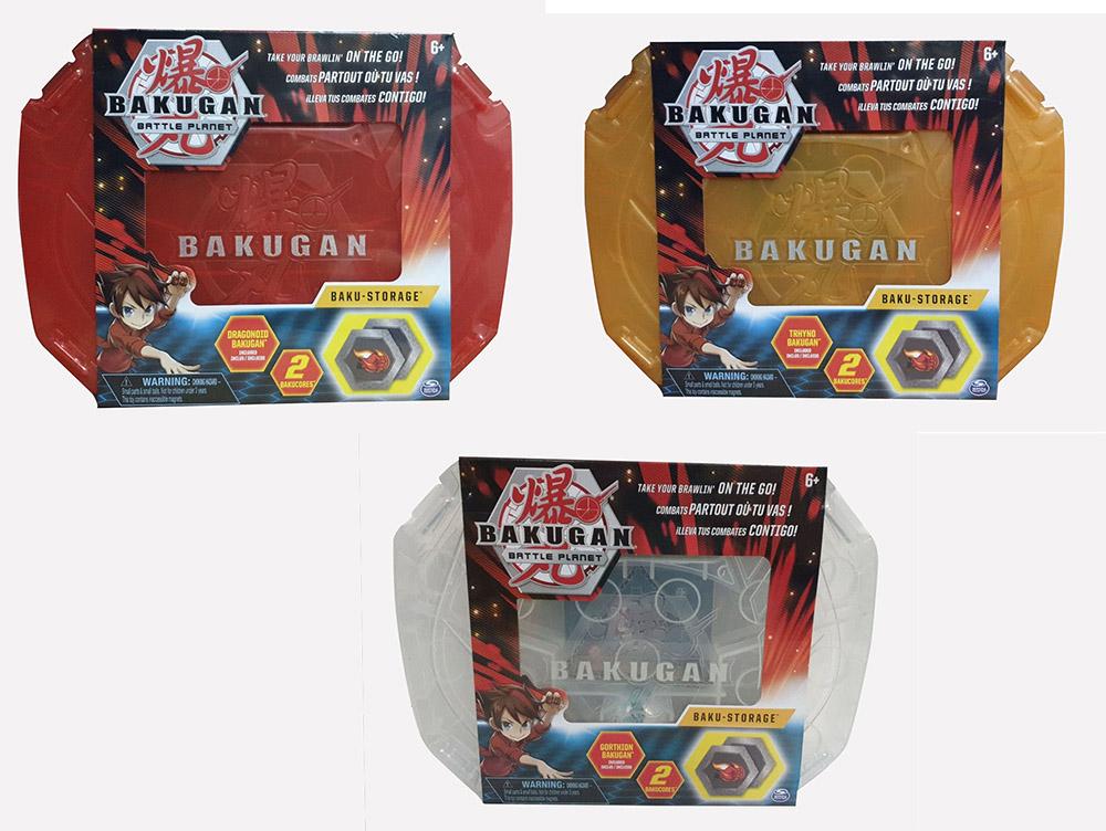 Bakugan mit Storage Case verschiedene Farben Aufbewahrungskoffer (Auswahl)