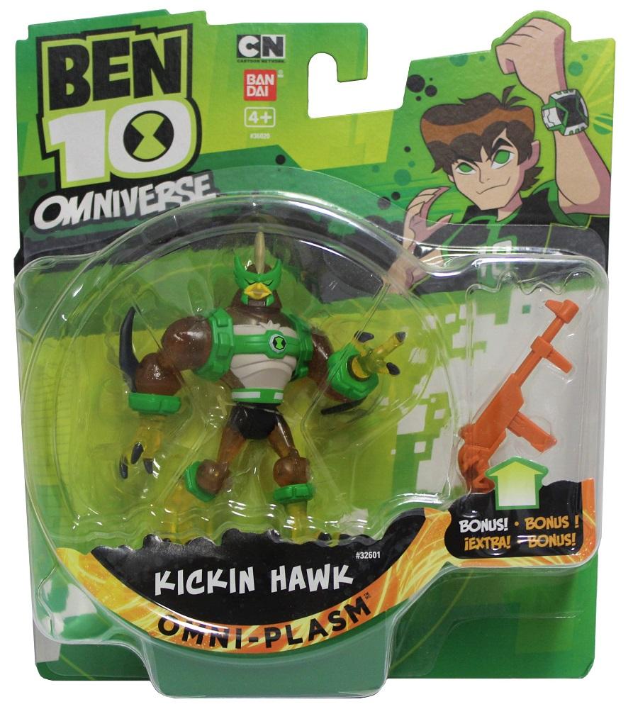 Bandai Ben 10 Omniverse Sammelfigur Kickin Hawk Omni-Plasm