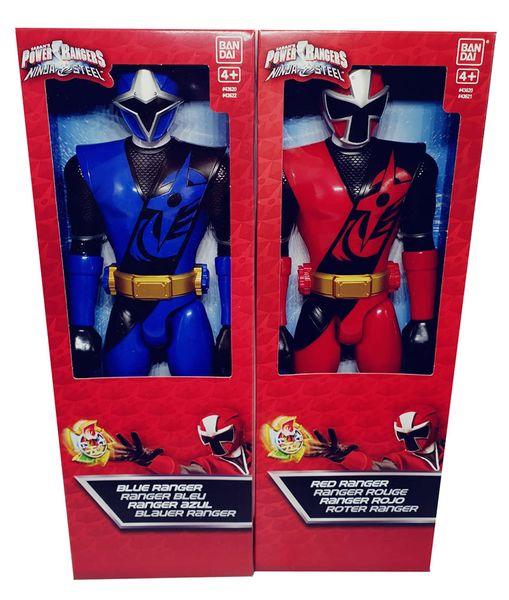 Bandai Power Ranger Ninja Steel bewegliche Action-Figuren 30 cm (Auswahl)