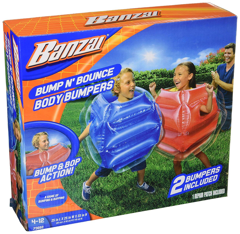 Banzai LYSB01B1X3USS-TOYS Garden Bump n Bounce 2 Bumpers enthalten