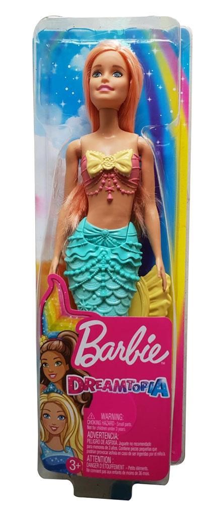 Barbie Dreamtopia Meerjungfrau Puppe mit Glitzer und Schmuck verziert