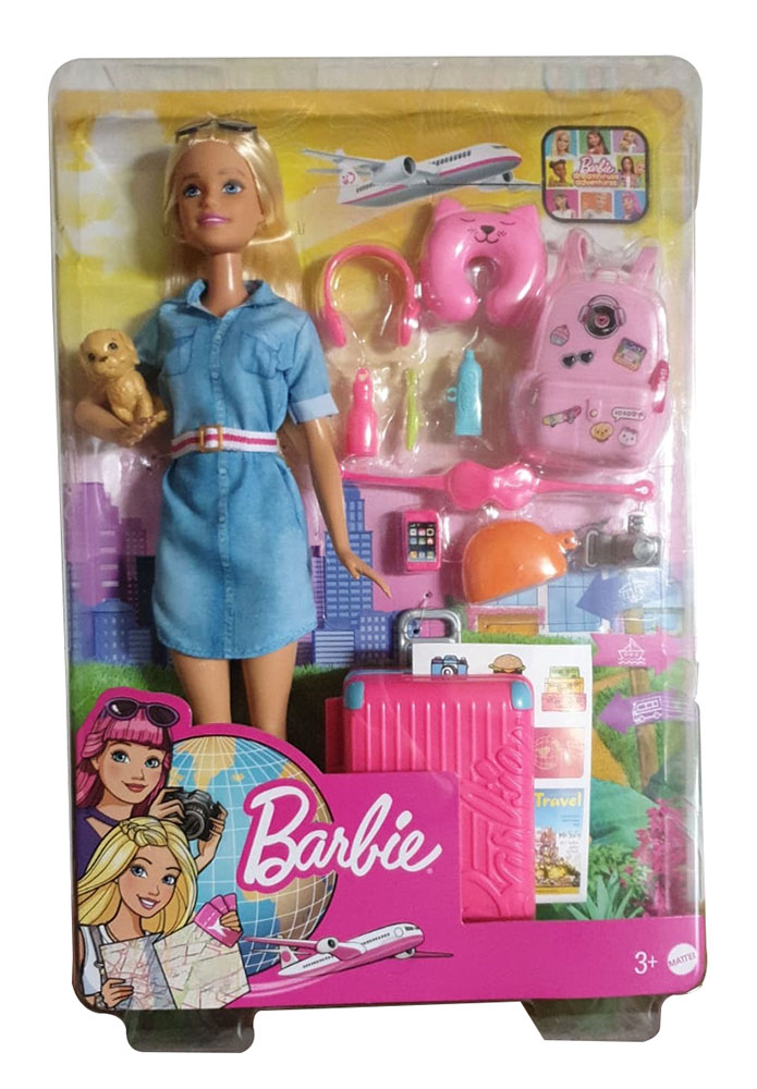 Barbie FWV25 - Reise Puppe