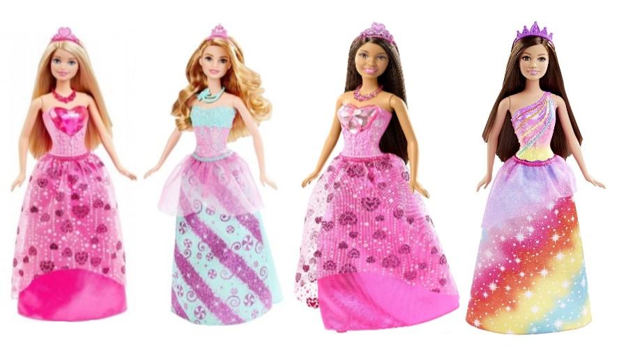 Mattel Prinzessinnen Barbie Puppe Dreamtopia (Auswahl)