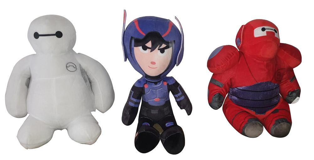 Disney Big Hero 6 Die Serie verschiedene Plüschfiguren für Kinder (Auswahl)