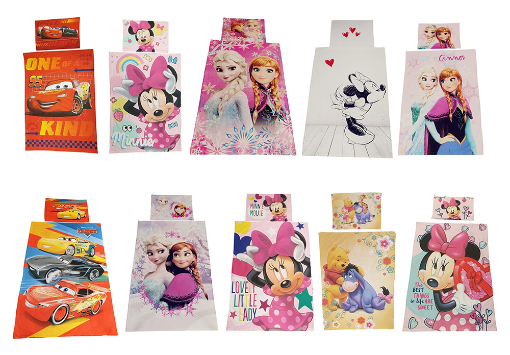 Disney Kinder Bettwäsche-Set (Auswahl)