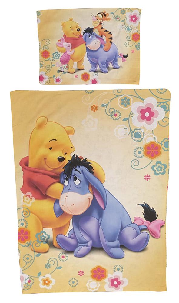 """Disney Winnie Puuh Kinder-Bettwäsche Set """"Winnie Puuh und Freunde"""""""