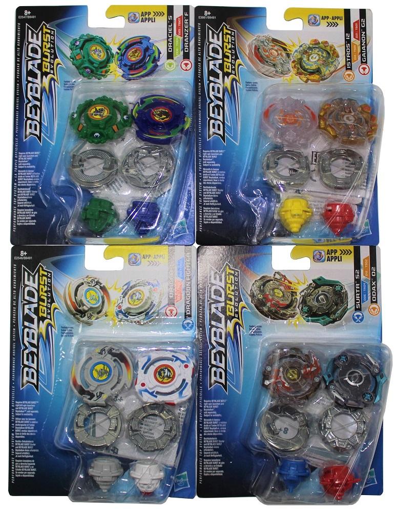 Hasbro Beyblade Burst Kreisel 2er Set Dual Pack für Jungen (Auswahl)