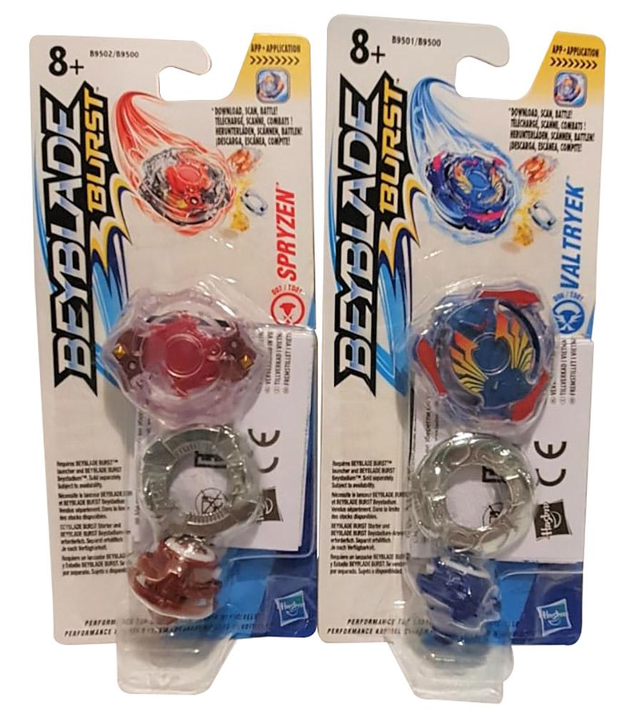 Hasbro Beyblade Burst Single Kreisel 2er Set verschiedene Farben