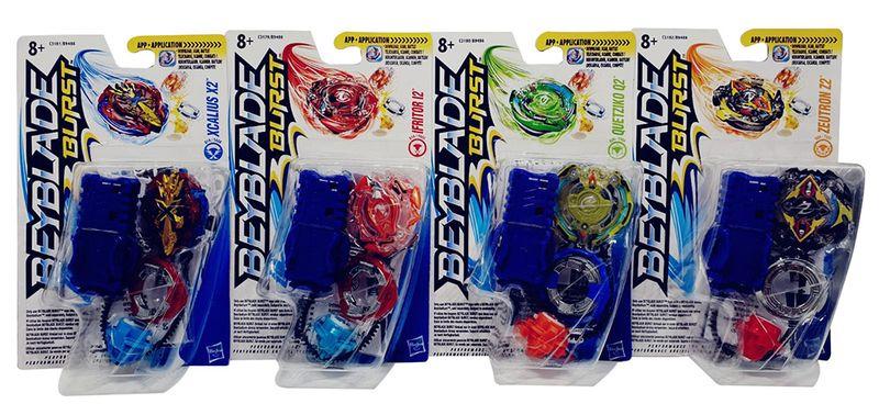 Beyblade Burst Set verschiedene Kreisel Starter Pack für Kinder (Auswahl)