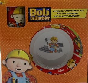 Bob der Baumeister Frühstücksset, 3 teilig