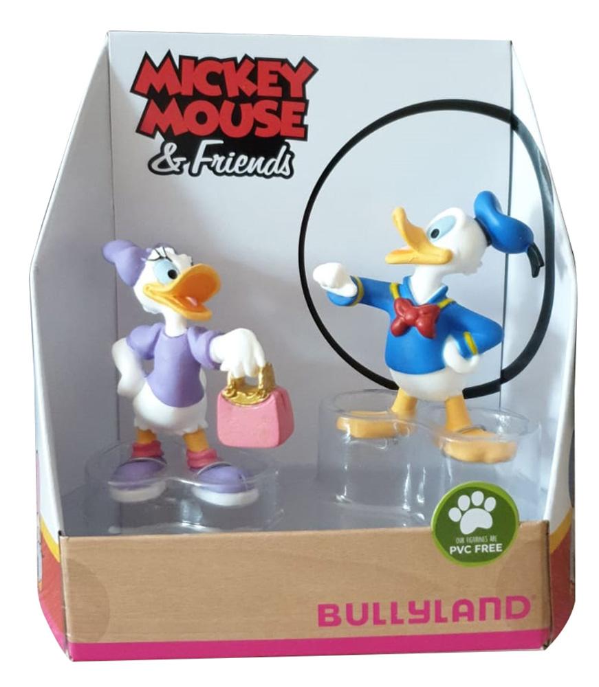 Bullyland 15084 - Spielfigurenset, Walt Disney Mickey Mouse Donald und Daisy