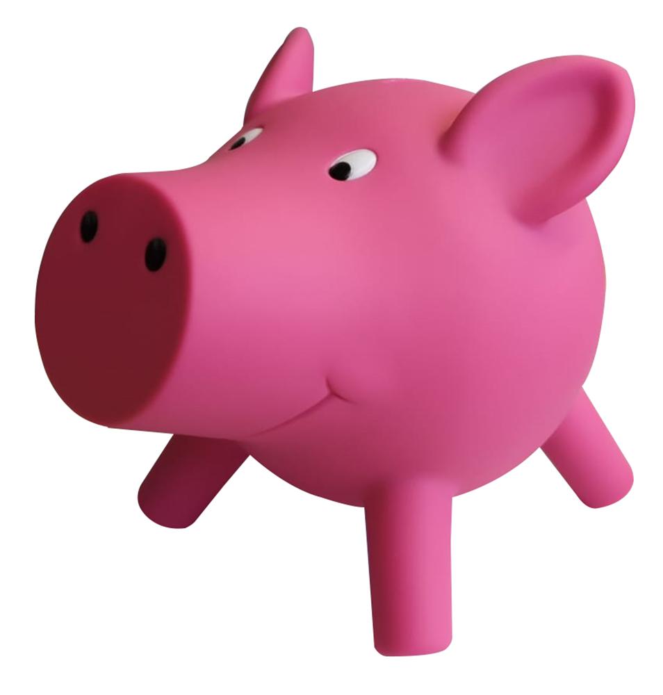 Bullyland 62100 - Spardose niedliches rosa Schweinchen, Sparschwein für Kinder