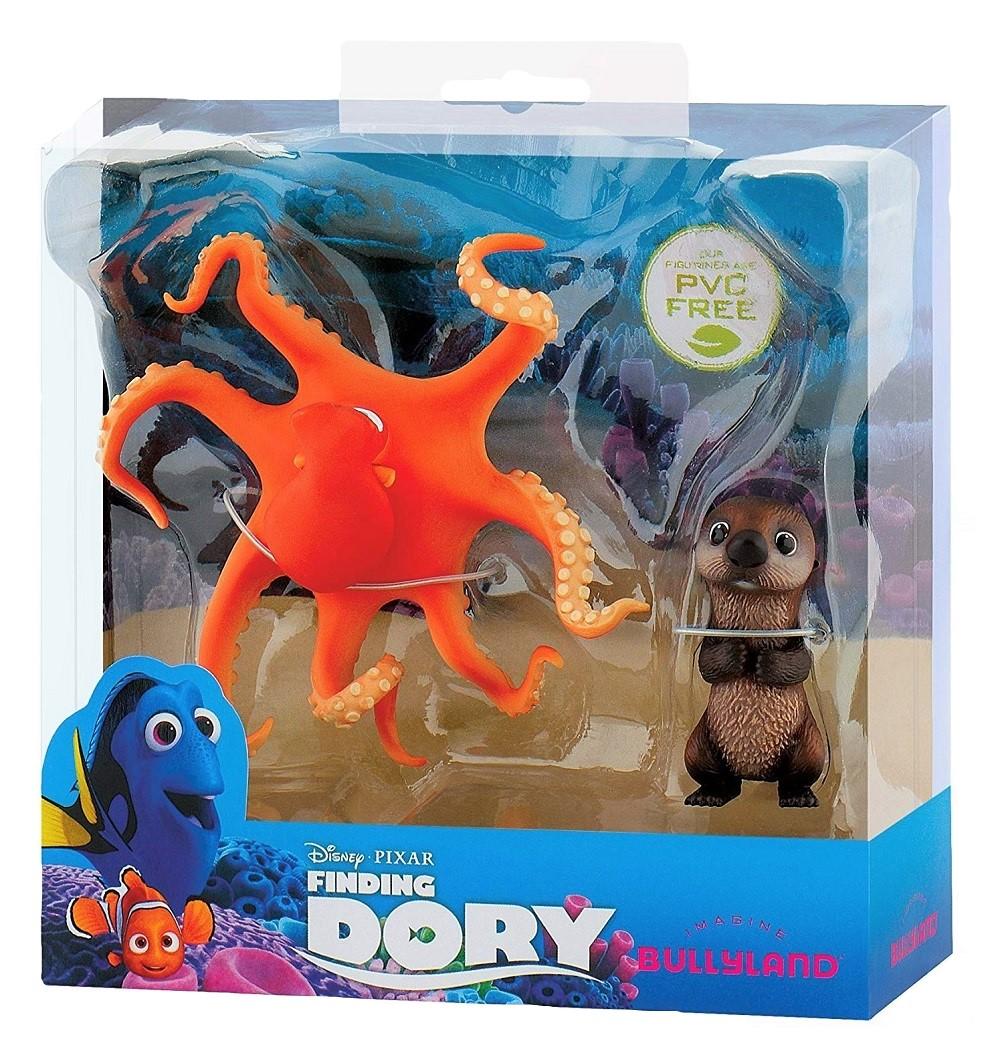 Bullyland Spielfiguren Hank und Otter Disney Pixar Findet Dorie 12067