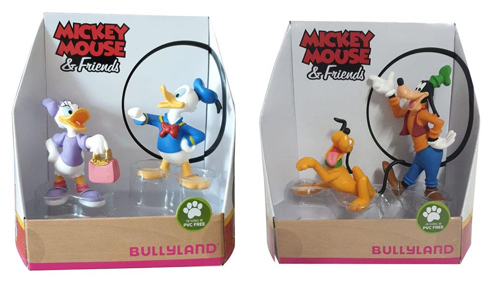 Bullyland Spielfigurenset Walt Disney Mickey Mouse handbemalte Figuren (Auswahl)