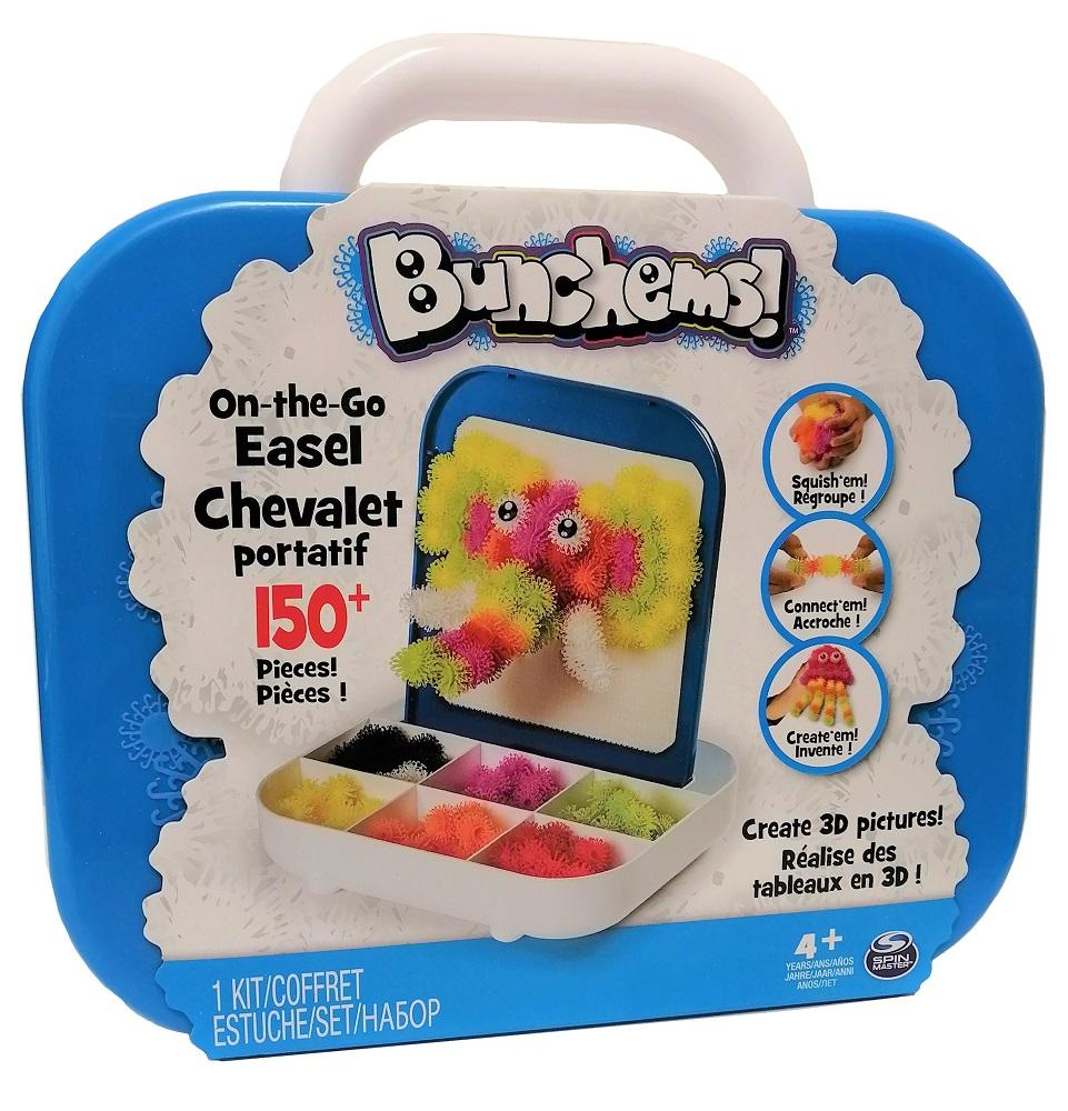 Bunchems - Koffer mit 150 Klettbällchen 3D Gestaltung für Kinder