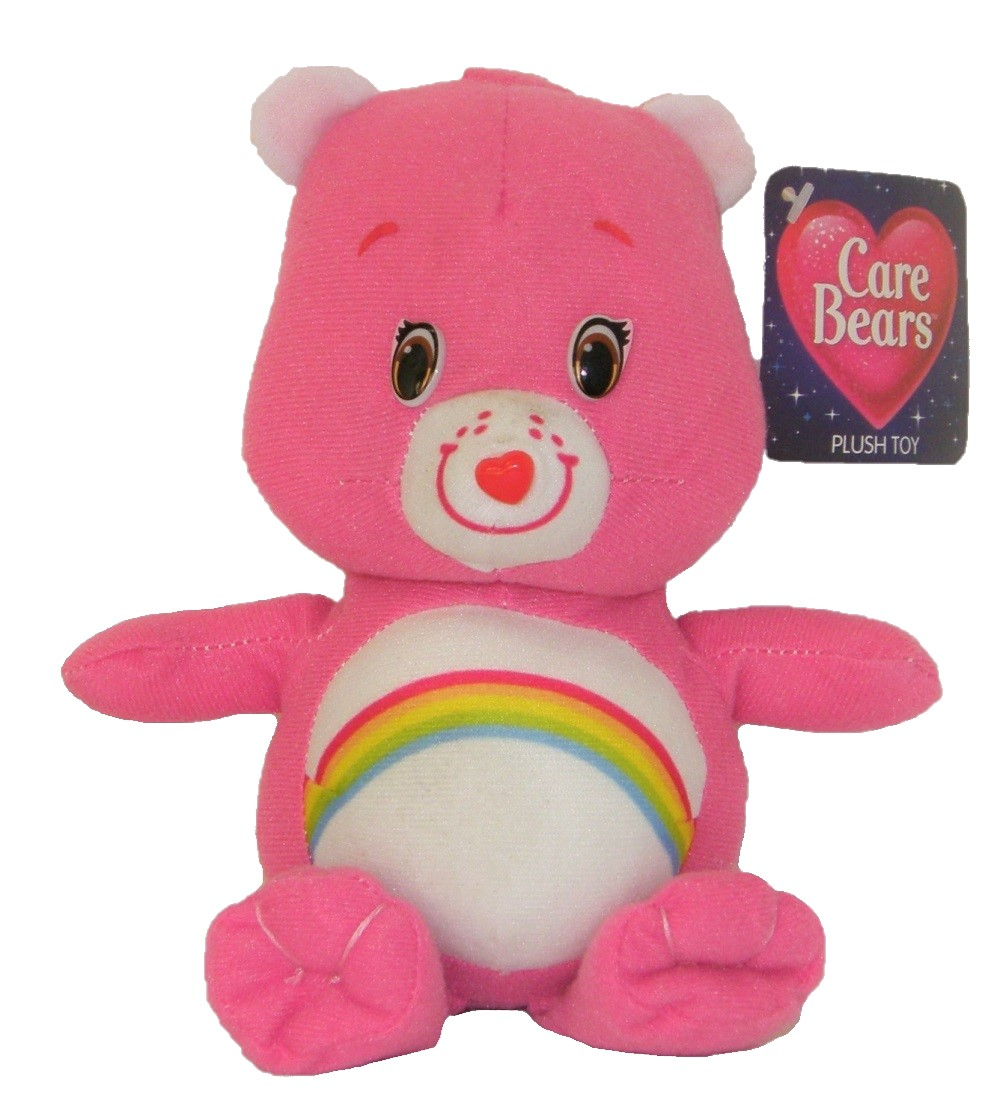 Care Bears Glücksbärchis Hurrabärchi pink 16 cm