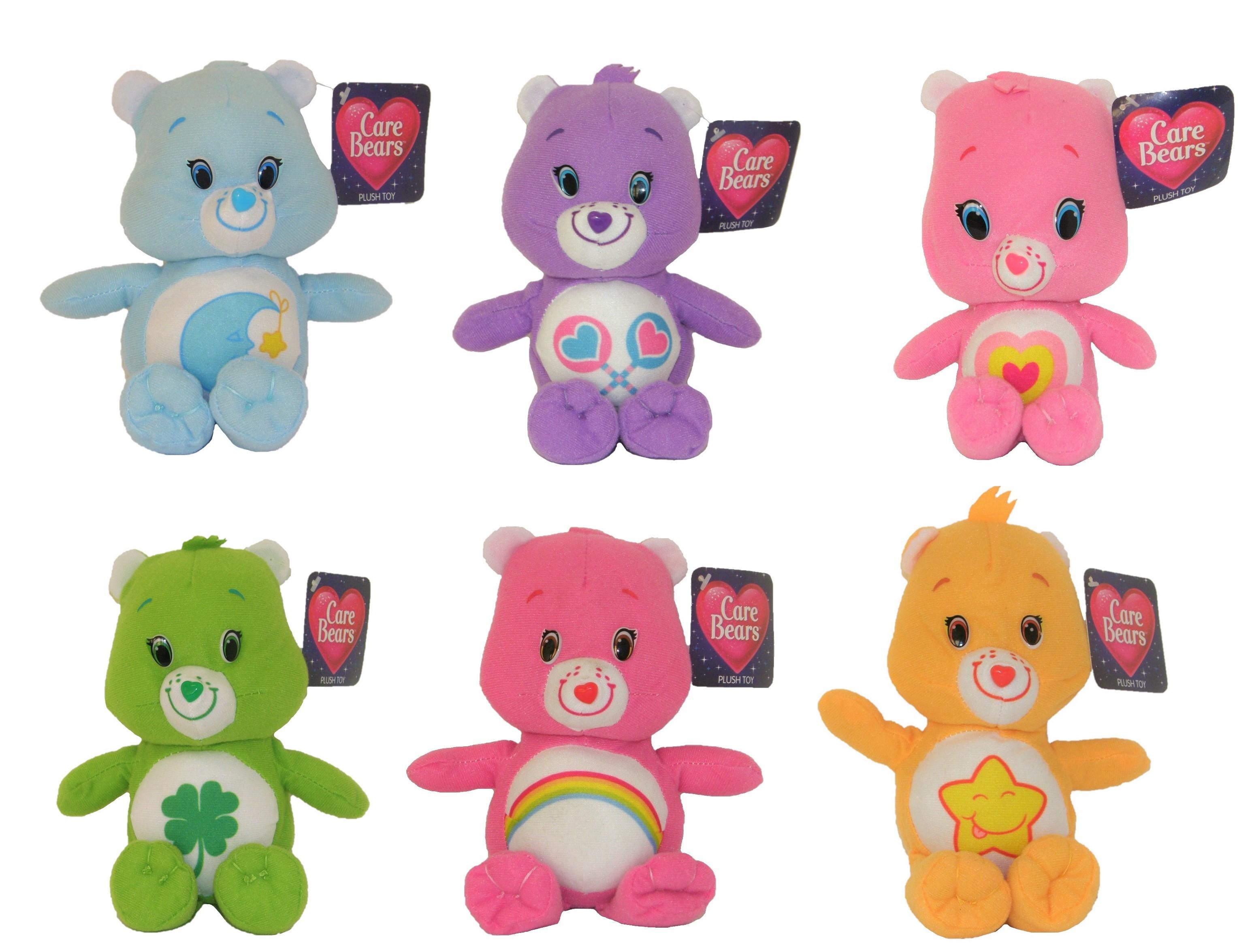 Care Bears Glücksbärchis Plüschtiere verschiedene Charaktere 16 cm (Auswahl)