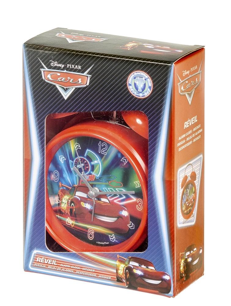 Disney Pixar Cars Alarm-Wecker rot