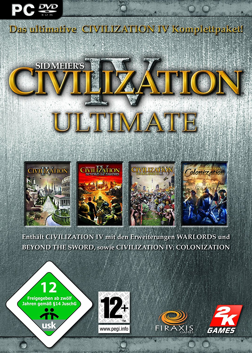 Sid Meier's Civilization IV 4 Ultimate Warlords, Beyond the Sword, Colonization