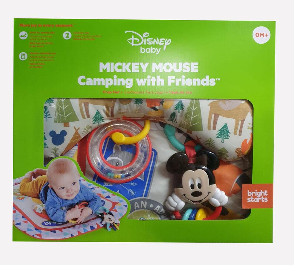 Disney Baby, stützende Spieldecke, Micky Maus, Camping with Friends