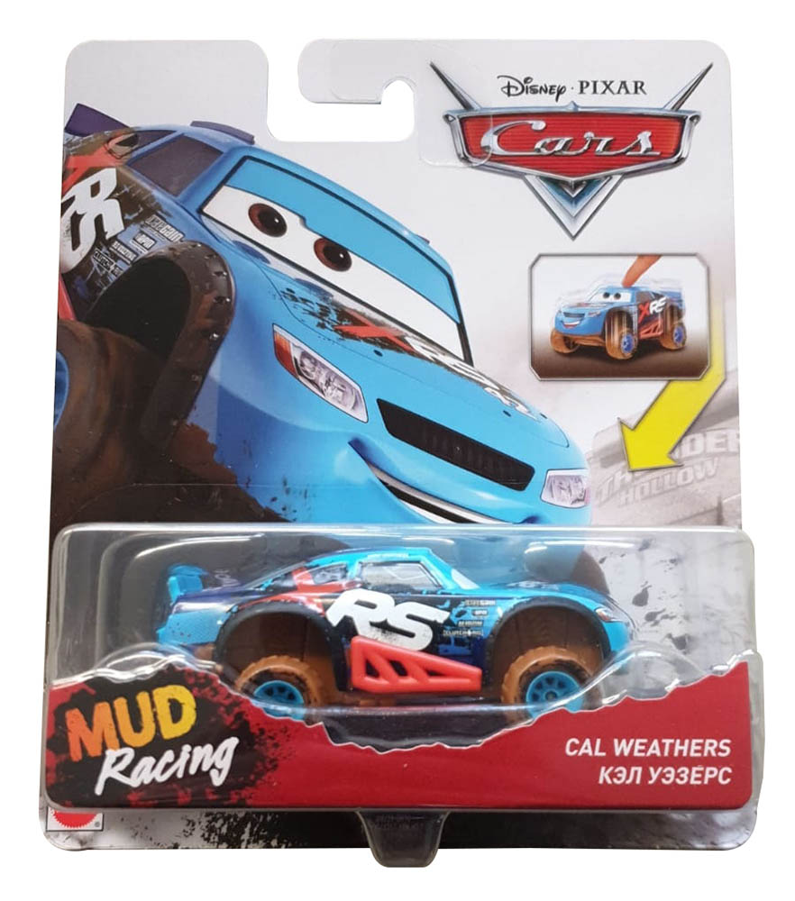 Disney Cars GBJ39 Xtreme Racing Serie Die-Cast Cal Weathers, Spielzeugauto