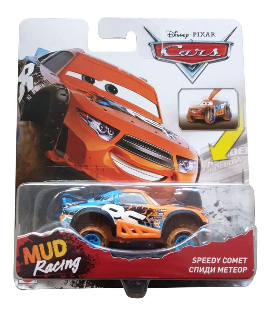 Disney Cars GBJ40 Xtreme Racing Serie Die-Cast Speedy Comet, Spielzeugauto