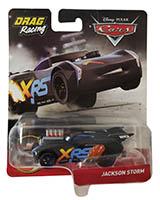 Disney Pixar Cars GFV36 - XRS Xtreme Racing Serie Drag Racing Jackson Storm Actioncar