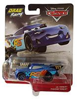 Disney Pixar Cars GFV39 - XRS Xtreme Racing Serie Drag Racing Little Torquey Actioncar